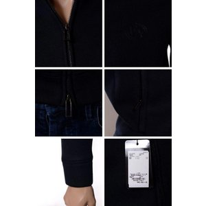 エンポリオアルマーニ(EMPORIO ARMANI) トラックジャケット ネオプレーン ブラック|yokoaunty|03