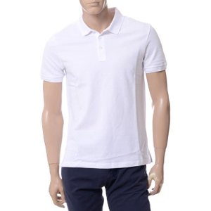 アルマーニジーンズ(ARMANI JEANS) ポロシャツ ホワイト|yokoaunty