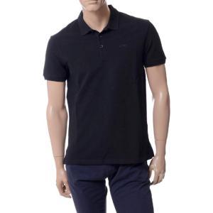 アルマーニジーンズ(ARMANI JEANS) ポロシャツ ブラック|yokoaunty