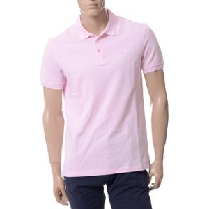 アルマーニジーンズ(ARMANI JEANS) ポロシャツ ライトピンク|yokoaunty