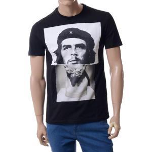 ニールバレット(Neil Barrett) チェゲバラ銅像Tシャツ ブラック yokoaunty