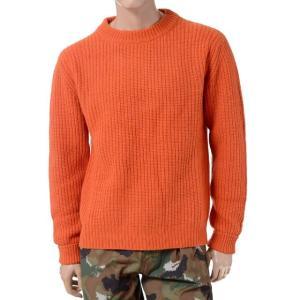 エチュード(etudes) セーター ウール オレンジ|yokoaunty