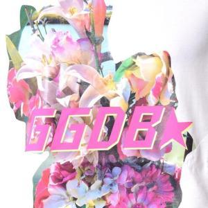 ゴールデングース(Golden Goose) ロゴ入りカットソーTシャツ コットンジャージー ホワイト|yokoaunty|05