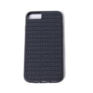 ディースクエアード Dsquared2 ロゴiPhone8用ケース iPhone7 6S/6対応 ブラック|yokoaunty