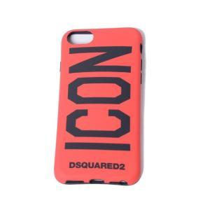 ディースクエアード Dsquared2 ICONiPhone8用ケース iPhone7 6S/6対応 レッド|yokoaunty