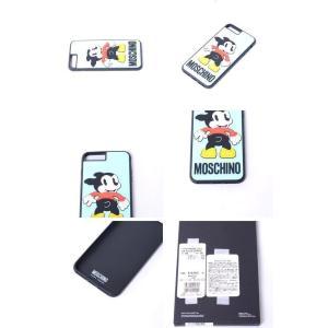 モスキーノ(Moschino) 犬iPhone7/8 Plusケース ライトブルー|yokoaunty|04