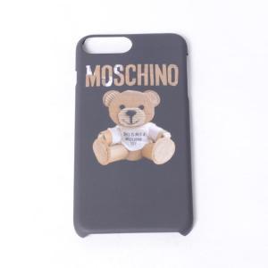 モスキーノ(Moschino) iPhone7 Plus用ケース 6/6s Plus対応 ダンボールジェンナリーノ ブラック|yokoaunty
