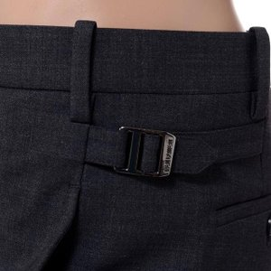 30% OFF ニールバレット Neil Barrett 裾切りっぱなしパンツ チャコールグレー|yokoaunty|04