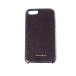 ウーゴカッチャトーリ ugo cacciatori iPhone 8用ケース 8/7/6s/6対応 牛革 マッド|yokoaunty