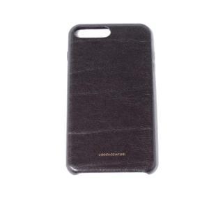 ウーゴカッチャトーリ ugo cacciatori iPhone 8 Plus用ケース 8/7/6s/6対応 牛革 マッド|yokoaunty