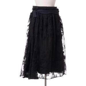 レキサミ rekisami 取り外し可能2重スカート ナイロンなど ブラック yokoaunty