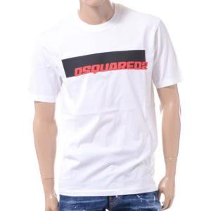 ディースクエアード Dsquared2 ロゴTシャツ コットン ホワイト yokoaunty