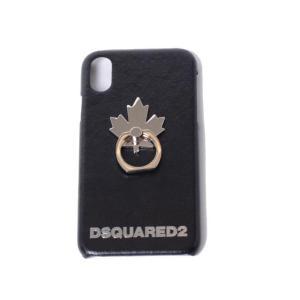 ディースクエアード Dsquared2 iPhone X用ケース ブラック|yokoaunty