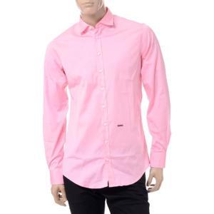 30% OFF ディースクエアード(Dsquared2) カーペンターノープライスシャツ コットンポプリンストレッチ ピンク