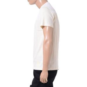 ラフシモンズフレッドペリー Raf Simons Fred Perry イニシャル刺繍Tシャツ コットン クリーム yokoaunty 02
