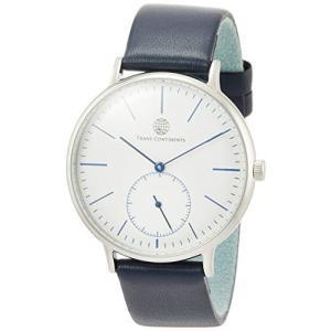 [トランスコンチネンツトウキョウ] 腕時計 TC02SWHNV メンズ 正規輸入品 ブルー yokobun