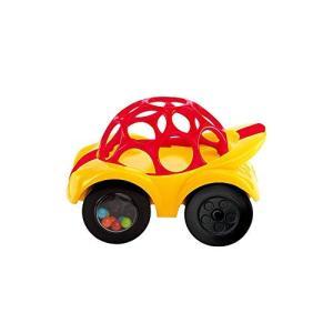O・ball オーボール Rattle & Roll ラトル&ロール Red [並行輸入品]|yokobun