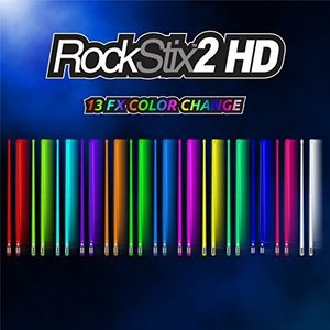 ROCKSTIX 2 PRO - COLOUR CHANGE LED LIGHT UP DRUM STICKS|yokobun