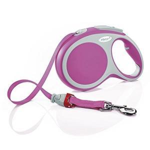 フレキシ (flexi) 巻取リード VARIO 8m Lサイズ テープタイプ ピンク[並行輸入品] yokobun