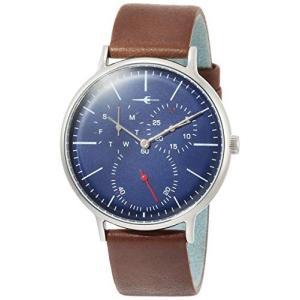 [トランスコンチネンツトウキョウ] 腕時計 TC04SNVBR メンズ 正規輸入品 ブラウン yokobun