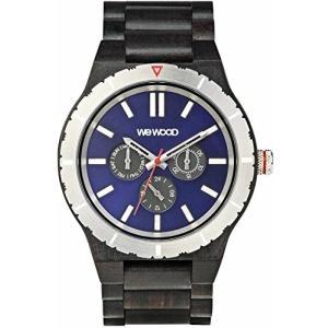 [ウィウッド]WEWOOD 腕時計 ウッド/木製 マルチファンクション KAPPA MB BLACK BLUE 9818132 メンズ 【正規輸入品】 yokobun
