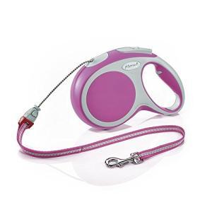flexi フレキシ 伸縮リード VARIO ヴァリオ コードタイプ Mサイズ 8m (ピンク) [並行輸入品] yokobun