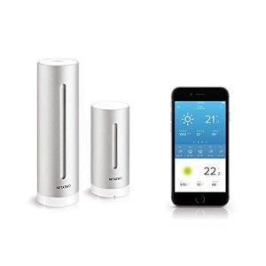 NETATMO(ネタトモ) ウェザーステーション USB付属・ACアダプター無し スマホ対応 温度・湿度・気圧・二酸化炭素・|yokobun