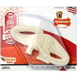 犬用歯磨きおもちゃナイラボーン デンタルダイナソー(ティラノザウルス) [並行輸入品] yokobun