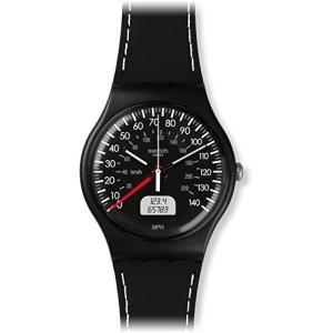 [スウォッチ]SWATCH 腕時計 NEW GENT(ニュージェント) BLACK BRAKE SUOB117 メンズ 【正規輸入品】 yokobun