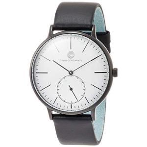 [トランスコンチネンツトウキョウ] 腕時計 TC02BWHBK メンズ 正規輸入品 ブラック yokobun
