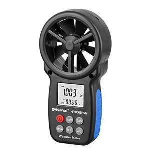 HOLDPEAK 866B-WM風速計風力計 デジタルスケール ハンドヘルド携帯用 風&温度同時計測風量計|yokobun
