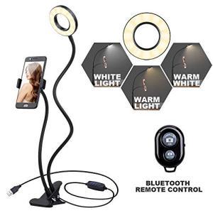 1.MULTI USAGE:内蔵12冷陰極LEDと12暖かいLED、冷たい白色光、暖かい白色光と混合...