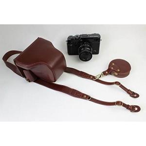 同カメラケースは、専門チームより開発されました。懐古風設計で、材質を厳密的に選択しました。表面は牛皮...