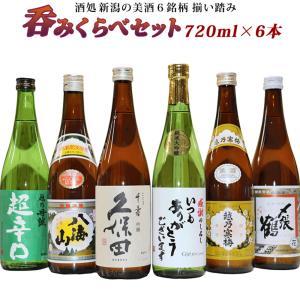 日本銘酒 飲み比べセット 720mlx6本