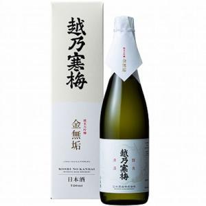 (新品商品)越乃寒梅 金無垢化箱入(純米 大吟醸酒) 720...