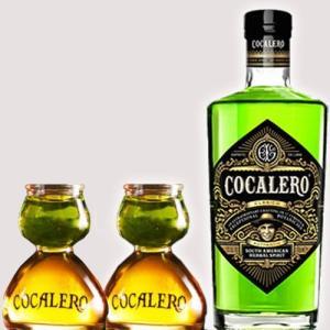 送料無料 コカレロ[COCALERO]  700ml グラスセット 29度 ボムグラス2個 コカの葉...