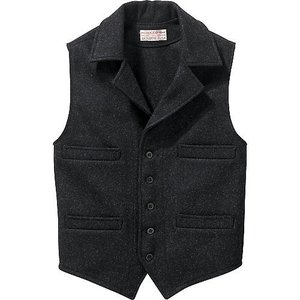 Filson Mackinaw Wool Western Vest #11010682|yokohama-marine-and-supply