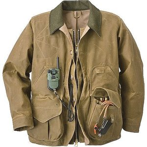 Filson TinCloth Field Coat with Zipper    #10088|yokohama-marine-and-supply
