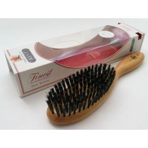 KENTヘアーブラシ  LC22 固めの豚毛、あらゆる髪質に適合します|yokohama-marine-and-supply