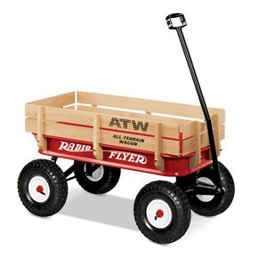 ラジオフライヤー Radio Flyer All-Terrain Steel & Wood Wagon #32|yokohama-marine-and-supply