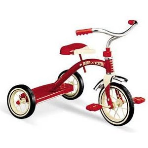 ラジオフライヤー Classic Red Tricycle(10