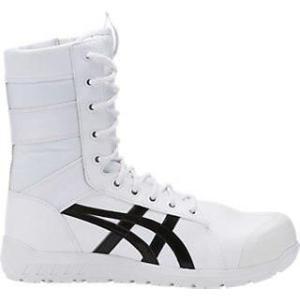 アシックス 安全靴 ウィンジョブ CP402  ホワイト/ブラック(1271a002-100)