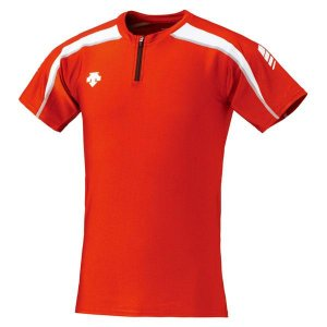 DESCENTE リクジョウ Track Shirt(トラックシャツ) 16SS RDWH Tシャツ...