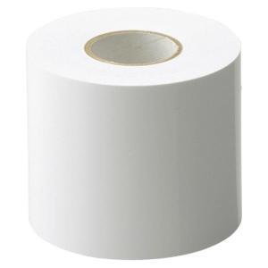 ■情報 ラインテープW白 幅70MM×長さ25M(1巻)格技用ポリ袋パッケージ 鮮やかな発色で、見や...
