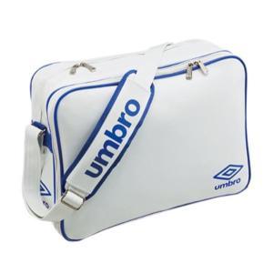 アンブロ サッカー エナメルショルダーL 16SS ホワイト/ブルー バッグ(ujs1007-wbu...