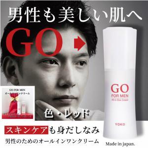 オールインワン 男性用化粧品 GO FOR MEN 80mL 化粧水 スキンケア エイジングケア ア...