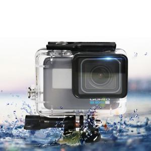GoPro HERO 7 6 5 HERO 防水ハウジングケース ダイブハウジング 防水 防塵 保護...