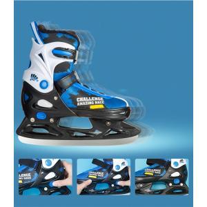 アイスホッケーシューズ ステンレス アイススケート 子供/大人 ホッケーアイススケートシューズ 氷靴 xzbdx03