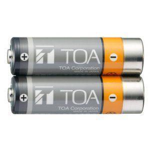 TOA  赤外線マイクシステムIRシリーズ赤外線マイク用充電電池IR-200BT-2|yokoproshop