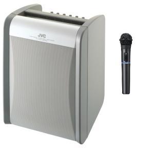 JVC 800MHz帯ポータブルワイヤレスアンプ(ダイバシティ)/CD付 PE-W51DCDBX1+WM-P970X1|yokoproshop